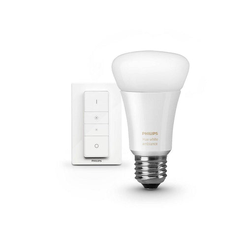 Enjoy smooth wireless dimming or create your ambiance with shades of white lights, from warm white to cool daylight with the Philips Hue Light Recipe Kit. SKU: PHI466960   UPC: 046677466961