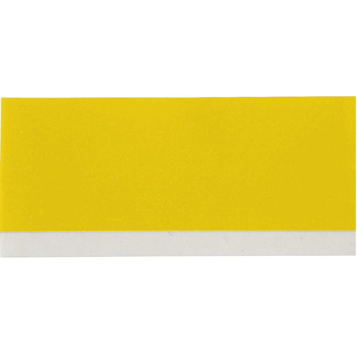 "Black on Yellow Vinyl Cartridge 0.75"" W x 21 ft L - Vinyl wrap-around tape labels are flexible and can tightly fit around pipes, equipment, shelves and most industrial surfaces. The M21 Series Vinyl Cartridges can be used with the BMP21 Series Label printer and can be used for all your labeling needs. SKU: BRYM21750595YL UPC: 662820966654"