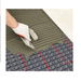nVent NUHEAT Membrane is a tile underlayment that can be installed over the entire subfloor for uncoupling, crack isolation and waterproofing purposes and can eliminate the need for a second layer of plywood or concrete backer board in most tile installations. SKU: NUHNUMEM161 UPC: 715629008640