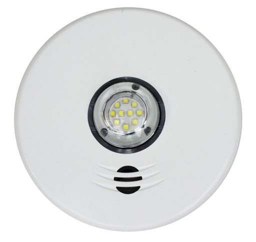 The 2-in-1 Kidde Smoke alarm with Strobe Light is an integrated 120 V AC wire-in smoke alarm with 10-year sealed battery backup. Designed to notify the deaf and hard of hearing, the strobe light provides temporal patterns, visual and voice warnings. SKU: P4010ACLEDSCA UPC: 047871268221
