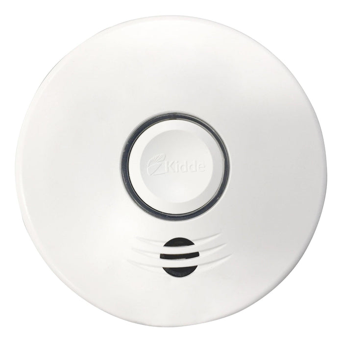 The Kidde combination Smoke & Carbon Monoxide alarms offer protection from two deadly threats in one unit. They come with a 10-year sealed battery that provides a variety of benefits to those who rely on continuous battery-operated smoke and carbon monoxide detection in their homes. The voice warning feature accompanies the alarm sound during an alarm event helping users to differentiate verbal announcements. Model: P4010DCSCO-WCA UPC: 047871273546 SKU: KIDP4010DCSCOWCA