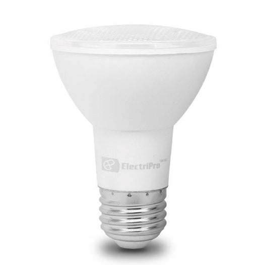 This Energy Star qualified lamp is dimmable and produces a Soft White Light (3000K). Electripro LED 8.5W lamp replaces a standard 50W PAR20 lamp. SKU#: 85PAR20LED830DIM UPC: 067805475167