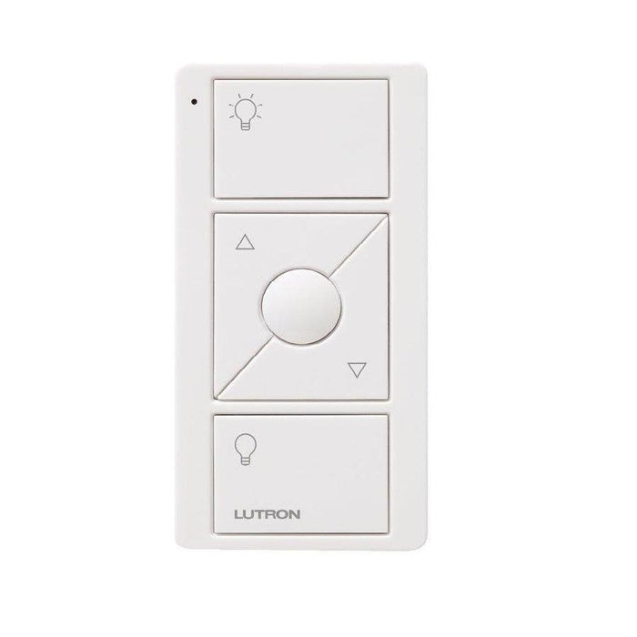 This Pico Three Button with Raise/Lower remote is used for the Caseta Wireless Smart Lighting Dimmer Switch, it's ideal for adjusting the lights for any activity in your home whether its reading, cooking, watching a movie, or having dinner. SKU# PJ2-3BRL GWHL01 UPC: 784276067782