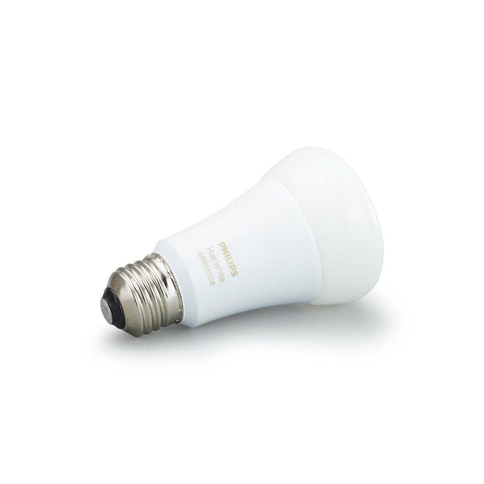 Get warm to cool white light in your home with this single smart light bulb. Use cool light to energize you in the morning and warm tones to unwind at night. Connect to the Hue Bridge to unlock the full smart lighting control and features. SKU: SIG461004  UPC: 046677461003