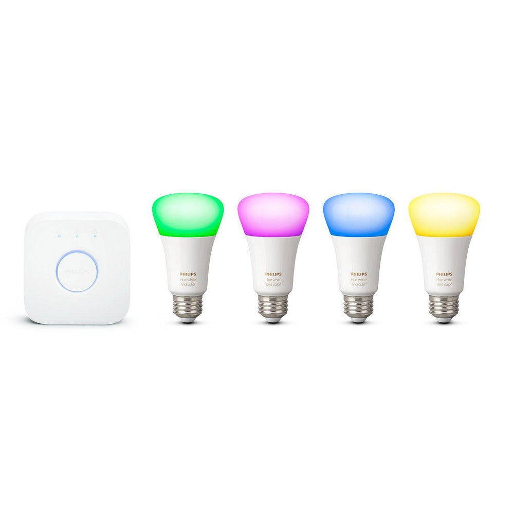 Transform your lighting into an extraordinary experience with Philips Hue colored, and white light ambiance bulbs; with 16 million colors to choose from you can easily set your lighting for any activity or occasion.