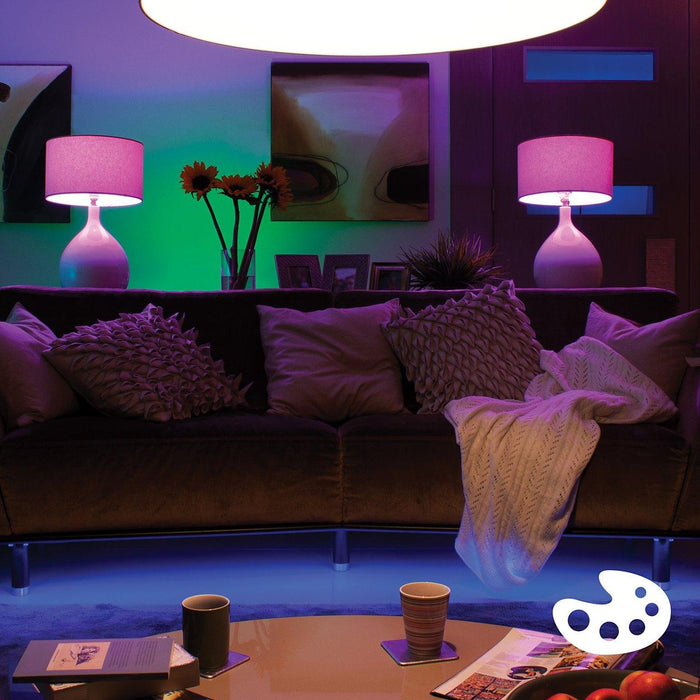Philips Hue White & Colour Ambiance A19 Starter Kit (Pack of 4)