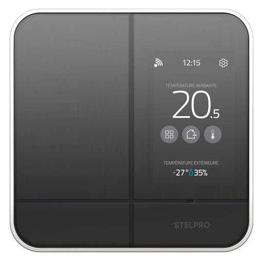 Maestro is the first smart thermostat compatible with all your electric heating devices, such as baseboards, convectors, and fan heaters. Thanks to its features and user-friendly mobile interface, you can now manage and personalize your home's heating easily and save on your electricity bill. SKU: STESMC402 UPC: 626296542330