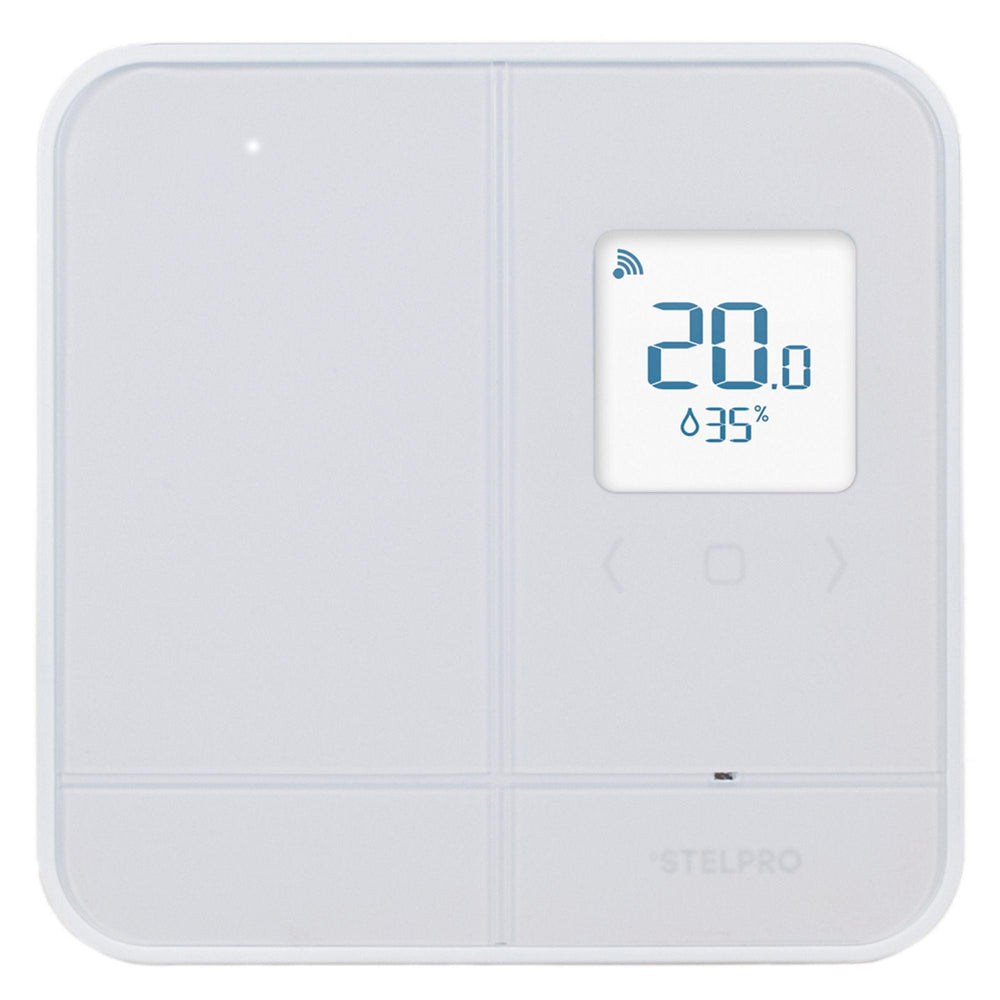 The new Maestro Smart thermostat by Stelpro is the smart way to control your home heating system. Pair with the Maestro controller for a full range of smart home automation features.
