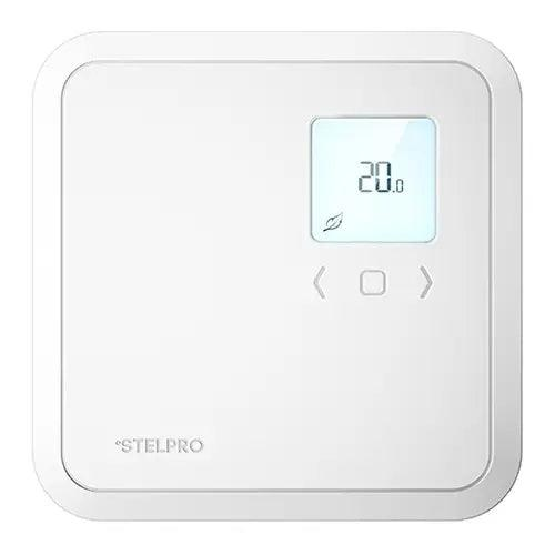 The Stelpro STE252NP single programming electronic thermostat is the ideal thermostat to control baseboards, convectors, and heating units under 2500 Watts. SKU: STESTE252NPW+ ST252 NP UPC: 626296202050