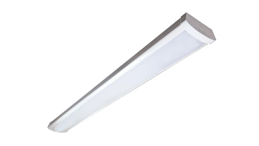 The RAB Design SMW4N-LED surface mount is a 4' linkable LED fixture ideal for indoor use. It features a link connector for easy linking with multiple fixtures in a row. SKU#: RABSMW4NLED48B4KWH$3, RAB080362 UPC: 061184803627