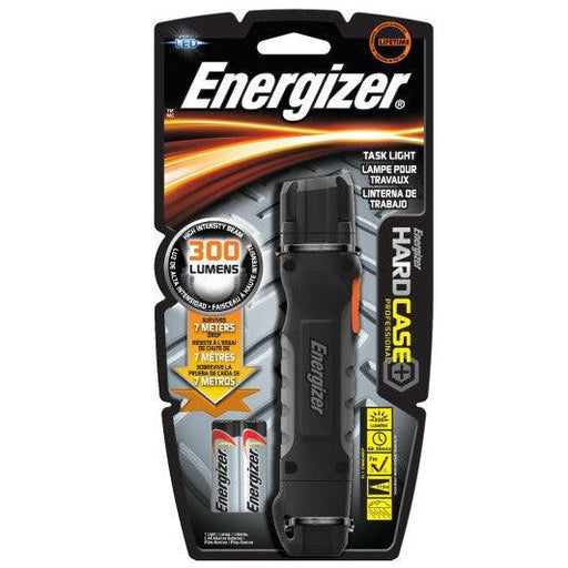 Energizer Hard Case Professional Task Light is always at hand and ready to perform for close-up jobs. The durable and impact-resistant body greatly reduces the chances of damage to internal components. It is affordable with a longevity of 65 hours and easily available AA batteries are used in it. SKU: EVETUF2AAPE UPC: 039800018540