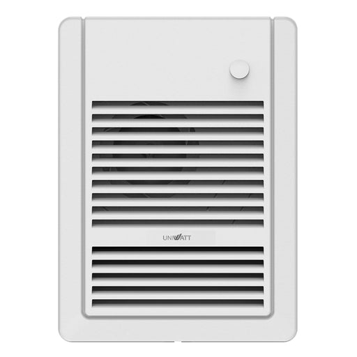 The Uniwatt UHF series fan heaters by Stelpro are a quiet and reliable source of heat, sure to provide optimal comfort. Perfect for the bedroom, living room, kitchen, hallway, lobby, or office. SKU: STEUHF1002WCW UPC: 626296577585