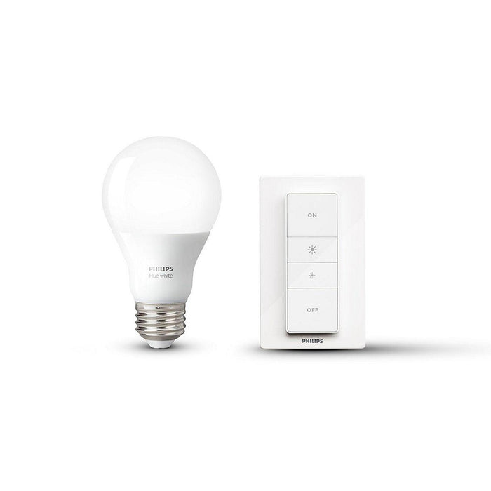Experience guaranteed smooth dimming with Philips Hue. No need for wires, an electrician or installation. Control the bulb with the included dimmer switch, or connect everything to a Philips Hue bridge for control from your smart device. SKU: PHI458991 UPC: 046677458997