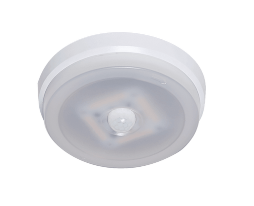 RAB Design Motion Sensing Spacelite - SPLR Ceiling Light SKU#: RABSPLR1LED12A4KSMS, RAB80085  UPC: 061184800855