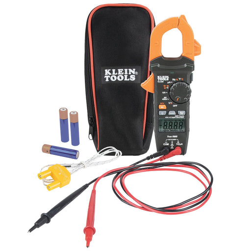 KLEIN TOOLS CL320 HVAC Digital Clamp Meter, 400 AMPS  HVAC Digital Clamp Meter, 400 Amps CL320 Klein Tools UPC: 092644692864