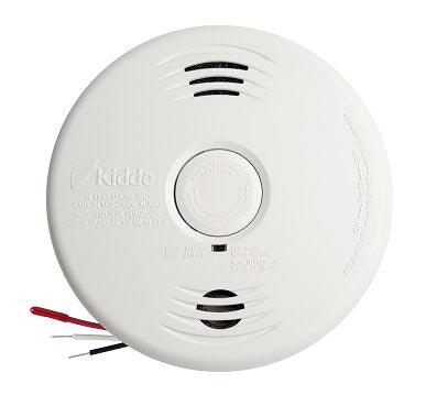 Kidde combination Smoke & Carbon Monoxide alarms offer protection from two deadly threats in one. These combination devices use breakthrough technology to offer a fast response to real fires, including smoldering and fast-flaming, as well as protect you from carbon monoxide and dramatically reduce the chance of nuisance alarms. Model: i12010SCOCA  Part: i12010SCOCA SKU: KIDI12010SCOCA UPC: 04787111608