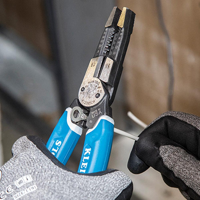 Heavy-Duty Wire Stripper with Crimping 8-20 AWG
