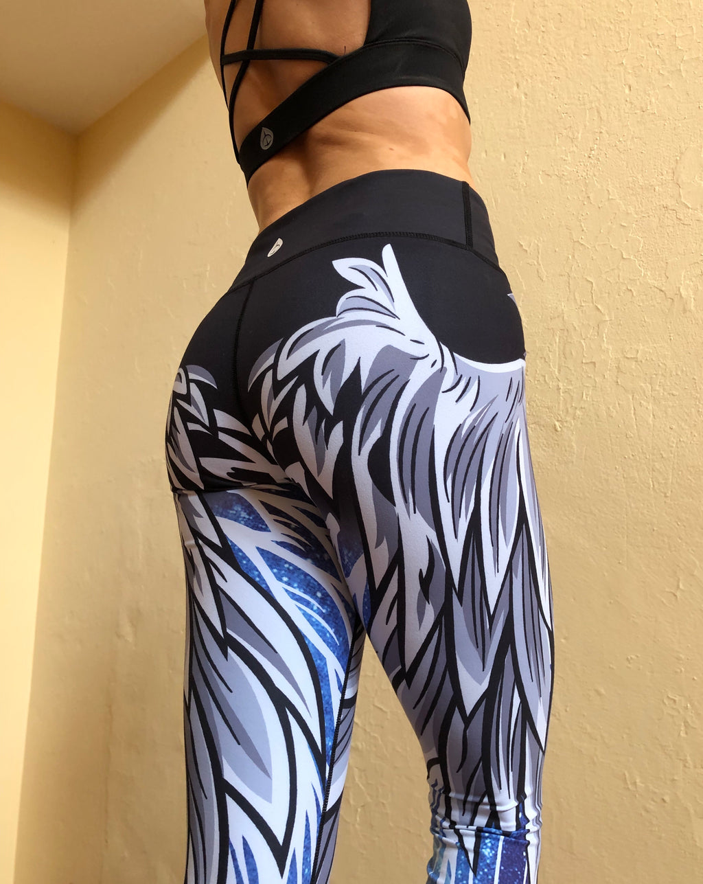 Wing Leggings - Galaxy