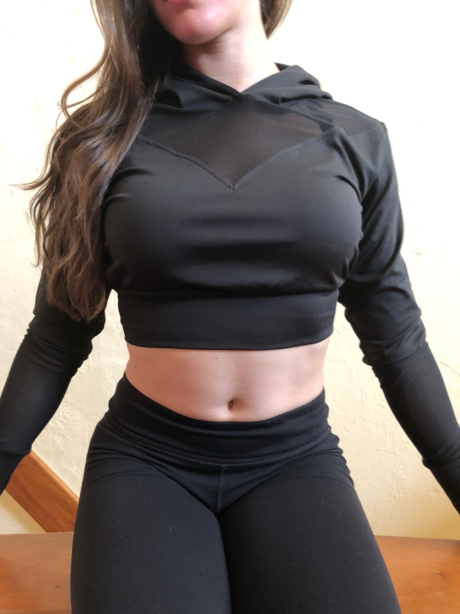 Anti-Gravity DTE Crop Top Hoodie