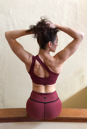 Mono Shoulder Sports Bra