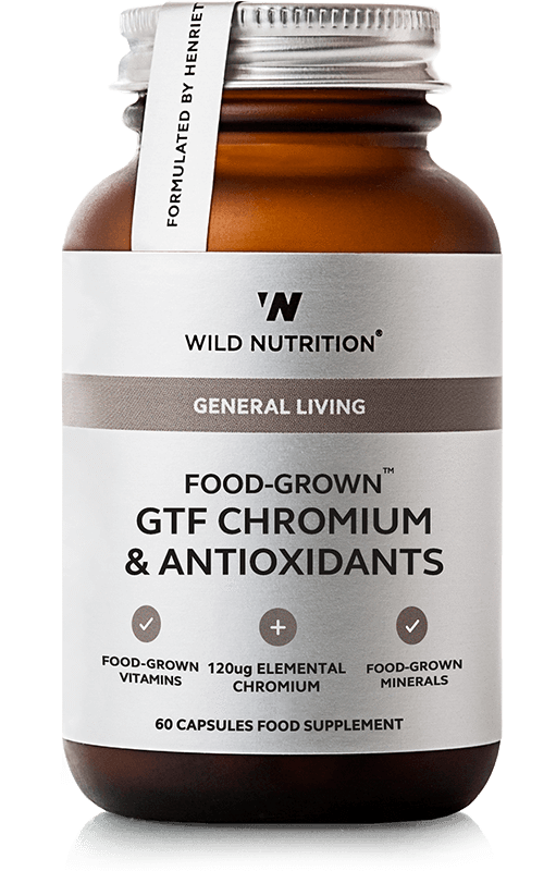 Food-Grown® GTF Chromium & Antioxidants