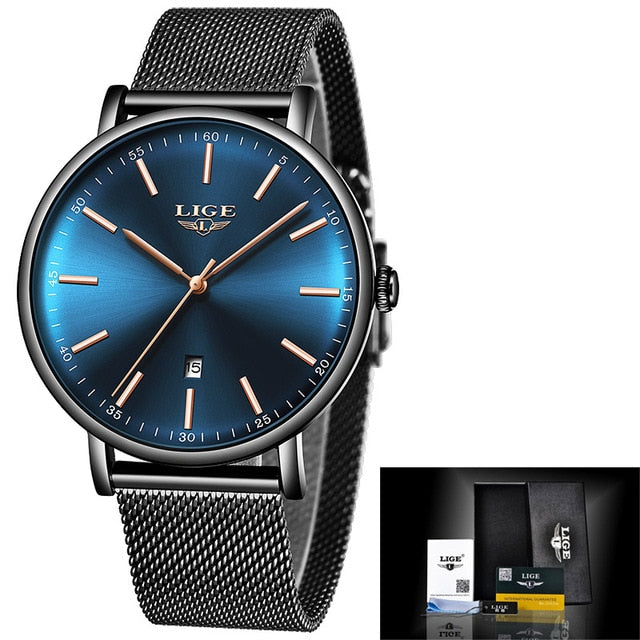 LIGE Women's Luxury Watch