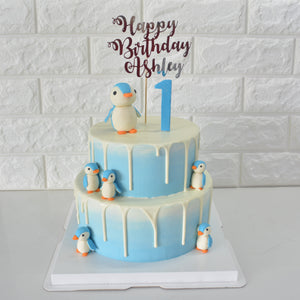 Penguins of Antarctica - Bakers' Boulevard Sg