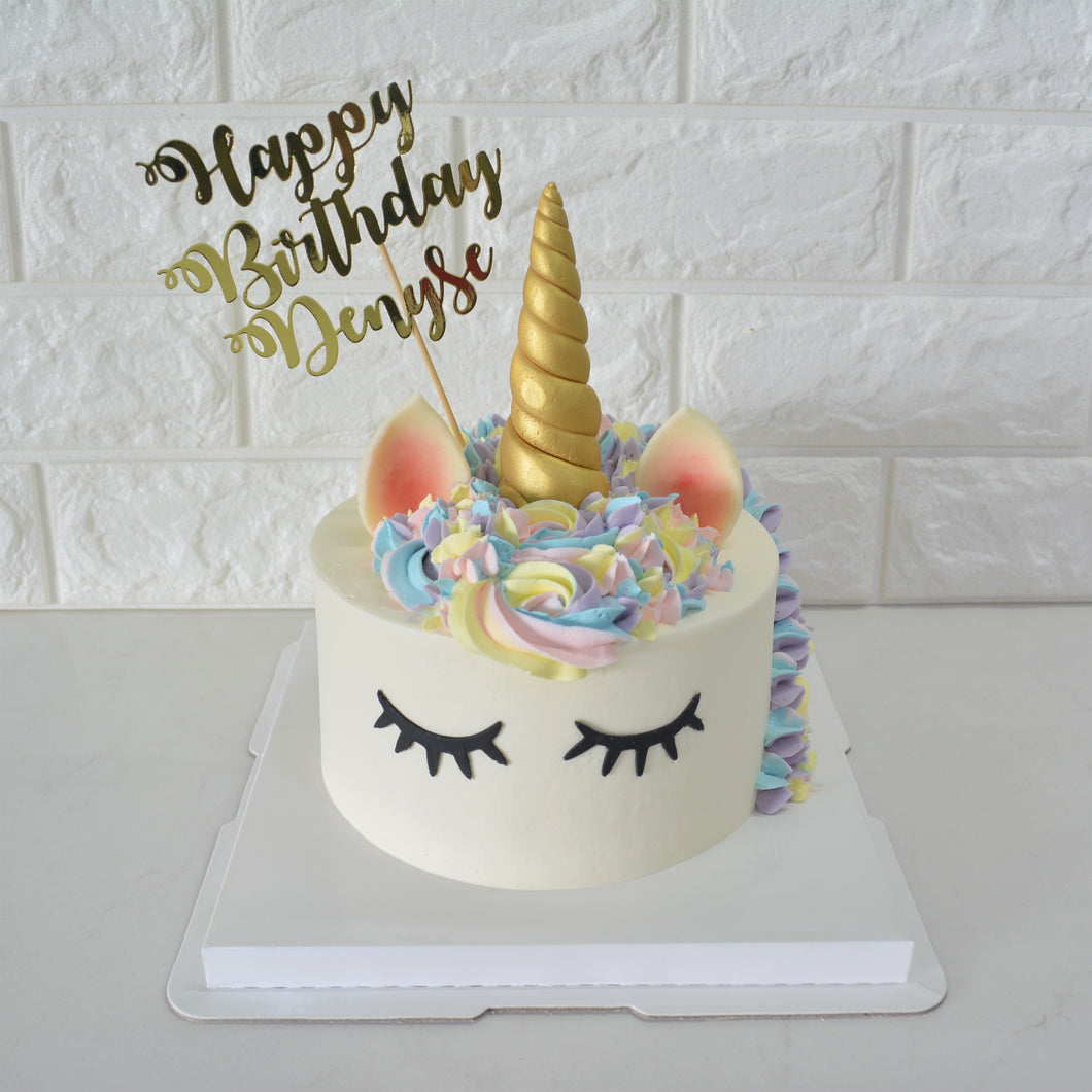 Unicorn Cake and Cupcake Bundle - Bakers' Boulevard Sg