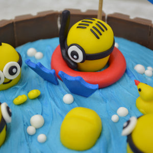 Pool Party (Minions Inspired) - Bakers' Boulevard Sg
