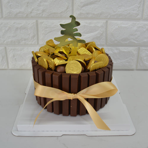 Abundance of Wealth (Money Pulling Cake) - Bakers' Boulevard Sg