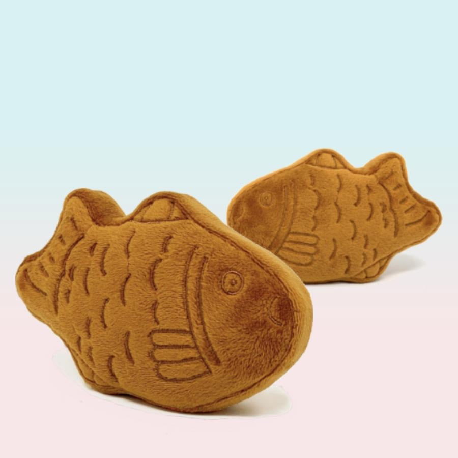 Fish Catnip Crinkle Toy