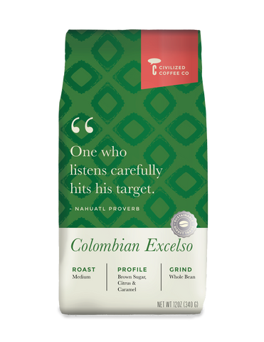Colombian Excelso (Whole Bean) 12 oz