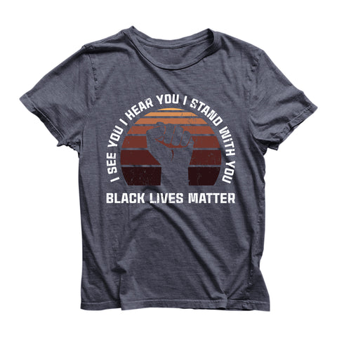 Eco Friendly Recycled Black Lives Matter Unisex T-Shirt