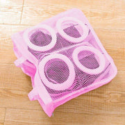 3pcs Footwear Washing Bags Pink trendpicky
