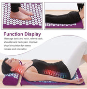 Acupressure Mat (Bonus Pillow + Home trendpicky