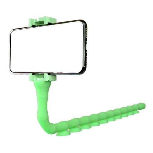 Adjustable Tripod Stand Phone Holder Green Adjustable Tripod Stand Phone Holder trendpicky