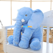 Adorable Elephant Plush Toy Pillow Blue trendpicky