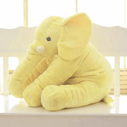 Adorable Elephant Plush Toy Pillow Yellow trendpicky