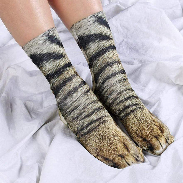 Animal Paws Socks Cat Animal Paws Socks trendpicky