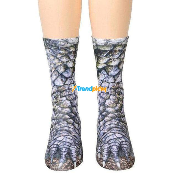 Animal Paws Socks Dinosaur Animal Paws Socks trendpicky
