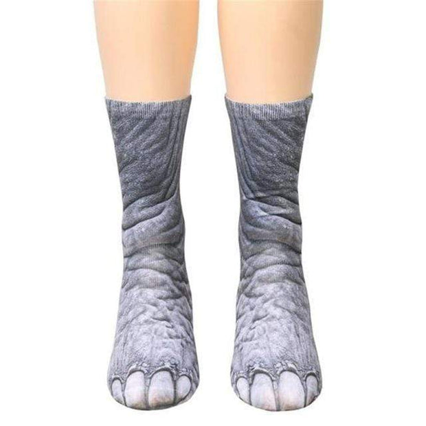 Animal Paws Socks Elephant Animal Paws Socks trendpicky