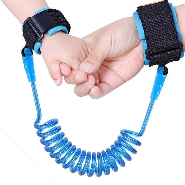 Anti-Lost Child Wrist Link 60 Inches / Blue Kids trendpicky