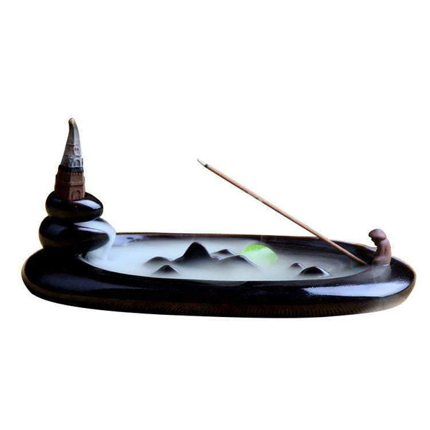 Aromatherapy Fishflow Incense Burner Incense Burner trendpicky