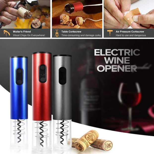 Automatic Wine Bottle Opener Automatic Wine Bottle Opener trendpicky
