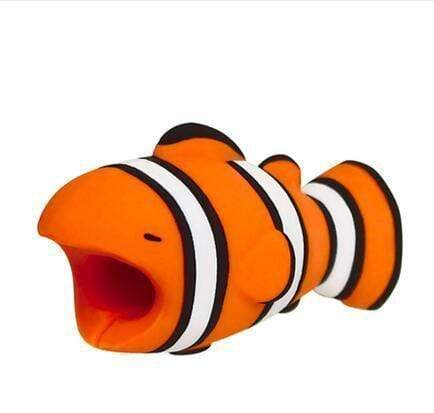 Baby Animals Cable Protector Clownfish Baby Animals Cable Protector trendpicky
