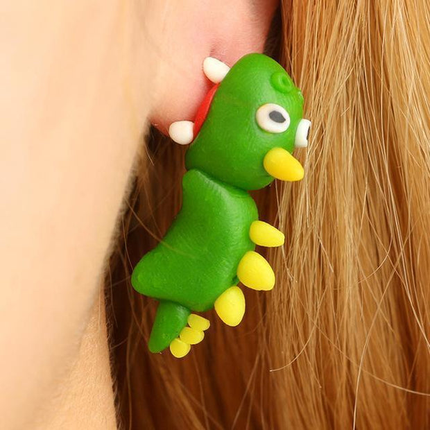 Baby Animals Earrings Dino Baby Animals Earrings trendpicky