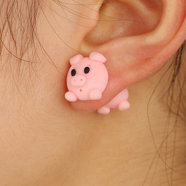 Baby Animals Earrings Piggy Baby Animals Earrings trendpicky
