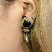 Baby Animals Earrings Puppy Baby Animals Earrings trendpicky