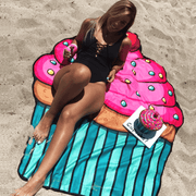 Beach Blanket & Cover Up One Size / Cupcake Beach Blanket trendpicky