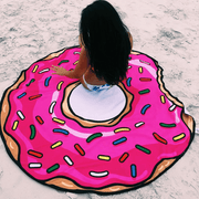 Beach Blanket & Cover Up One Size / Donut Beach Blanket trendpicky